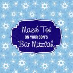 Parents Bar Mitzvah Card