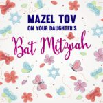 Daughter's Bat Mitzvah Card