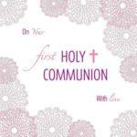 Communion Greeting Card