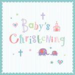 Christening Greeting Card