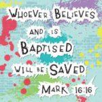 Baptism Greeting Card