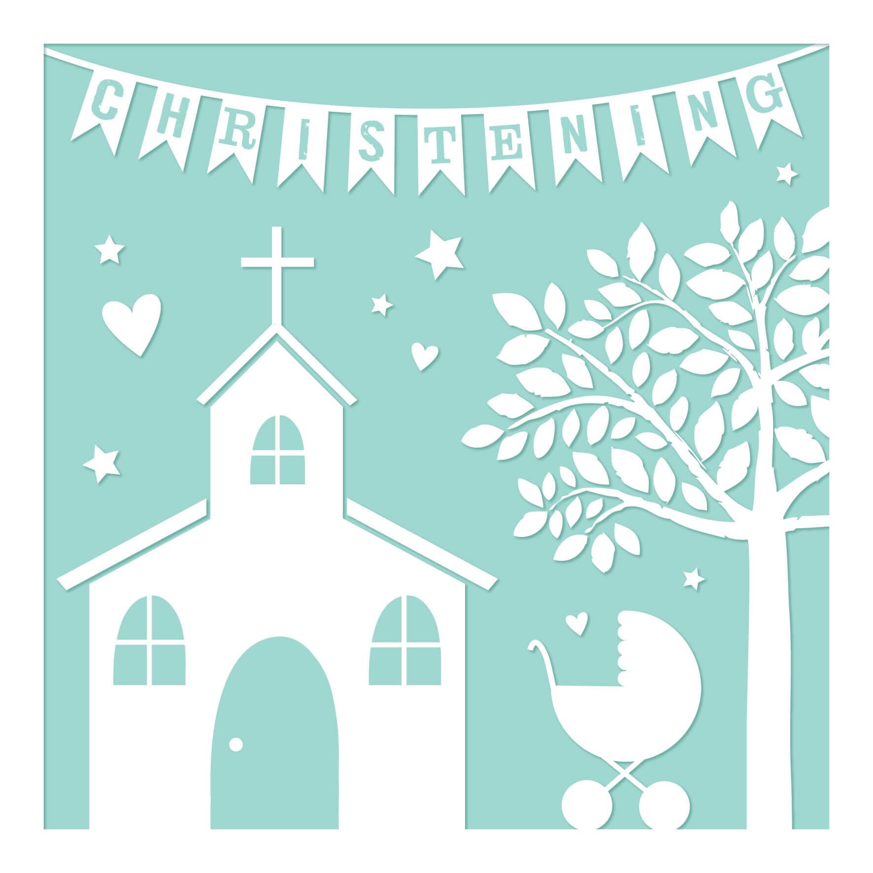 Christening Greeting Card Davora Trade Website