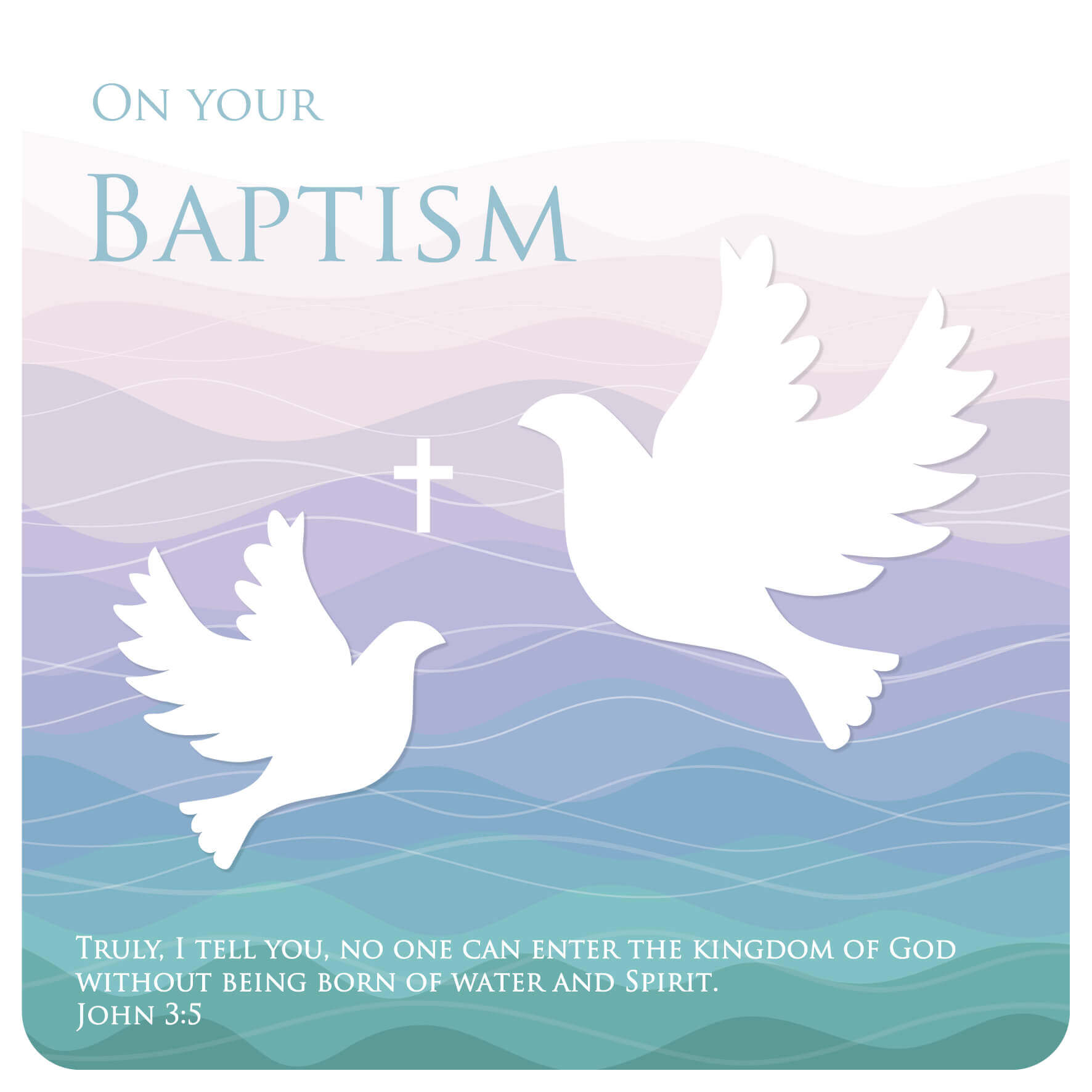 Baptism greeting card davora trade website baptism greeting card m4hsunfo
