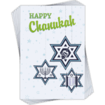 Chanukkah Cards 6 pack