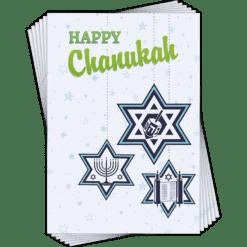 Chanukkah Cards 6 pack