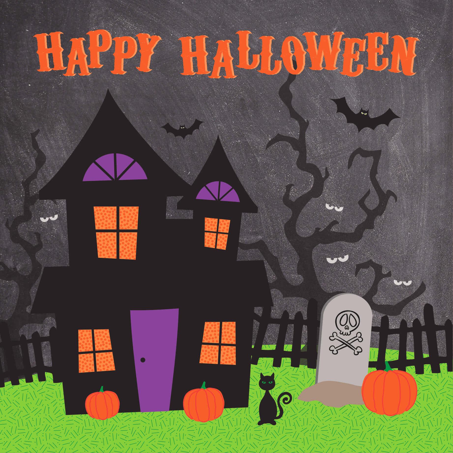 Halloween Greeting Card Davora Trade Website