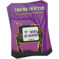 Halloween Invitations 6 pack