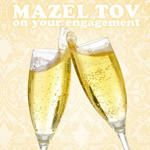 Jewish Everyday - Engagement Greeting Card