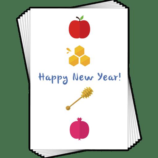 Jewish NY Multi Packs Greeting Card