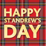 St Andrew's Day Greeting Card