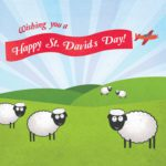 St David's Day Greeting Card