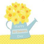 St David's Day Greeting Card