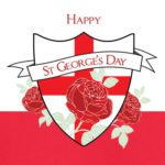 St George's Day Greeting Card