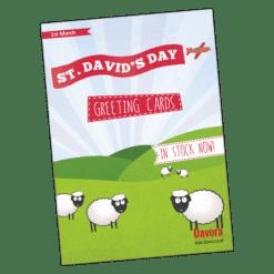 St Davids Day Poster