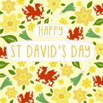 St Davids Day Card